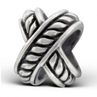 """Stříbrný korálek na náramek Pandora """"Antik"""". Ag 925/1000"""